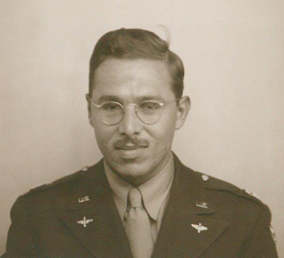Edgar Villchur, reporting for duty, 1941