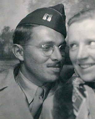 Edgar and Rosemary (Eddie and Romy) in 1945. War is over!