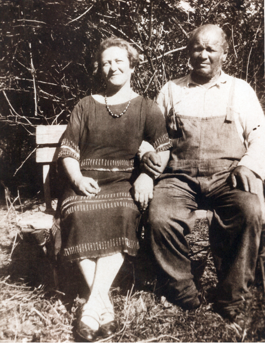 Rosa and Morris Vinograd