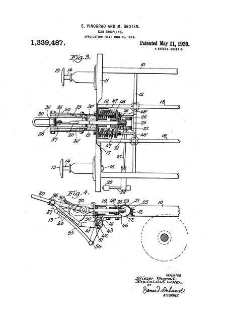 Vinograd and Groten patent 1920
