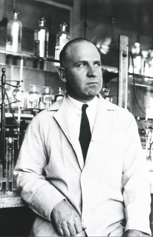 Dr. Donald Van Slyke, the father of clinical chemistry (diagnosis through analysis of blood samples). He was Mariam Vinograd-Villchur's supervisor, and the lead author of three journal articles to which she contributed.