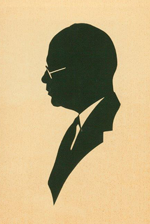 Mark E Villchur -silhouette